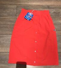 Brand New Champion Red Popper Skirt Size S