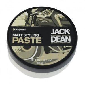 Jack Dean Matt Styling Paste 100g Pomade Styling Product Gel