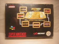 Super Nintendo ARCADE'S GREATEST HITS        snes