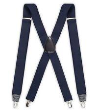 Dockers Men's Solid Suspender, Navy, One Size