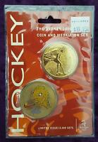 SYDNEY 2000 OLYMPICS HOCKEY COIN and MEDALLION SET - PERFECT MINT & UNOPENED