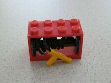 Lego 4209c07# 1x Seilwinde 2x4x2 Rot 7208 60004 4430