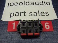 JVC RX-515V Receiver Center & Rear Speaker Terminal. Parting Out JVC RX-515V