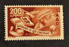 Timbre SARRE ALLEMAGNE / SARRE GERMANY Stamp - YT Aériens 13 n** (Col7)