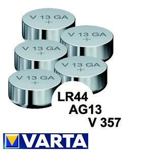 Varta V13GA LR44 GPA76 LR1154 357A V357 AG13 AG 13 Knopfzelle 155mAh Auswahl