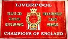Liverpool Flag Premier League Winners 2020.Champions Banner 5x 3 or 3 x 2 Foot
