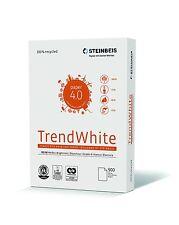 Recycling Kopierpapier STEINBEIS TREND WHITE A4 80g 2.500 Blatt Druckerpapier