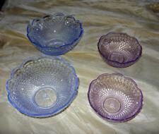 Villeroy & Boch Farbkristallglas Dessertschalen 4 Stück