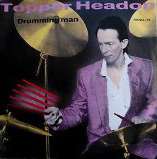 """7"""" 1985! TOPPER HEADON (= CLASH ) Drumming Man /MINT-?"""