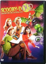Dvd Scooby-Doo 2 - Mostri scatenati con Sarah Michelle Gellar 2004 Usato