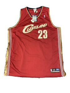 Size: 56 Vintage Authentic 2003 Reebok Lebron James Rookie Cavaliers Jersey NWT