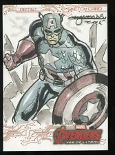 2015 Marvel Avengers 2 Age of Ultron Movie Sketch Card - Mark Marvida