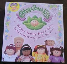 Cabbage Patch Kids Game Happy Family Board Game 2005 RoseArt NEW Doll Toy Gift