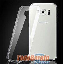 Funda TPU 100 %25 TRANSPARENTE PARA Samsung Galaxy S6 A3 A5 A7 Y MAS ELIJE MODELO