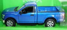 Camión de automodelismo y aeromodelismo color principal azul de escala 1:50
