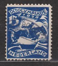 NVPH Netherlands Nederland nr. 218 used Olympiade Amsterdam 1928 Pays Bas