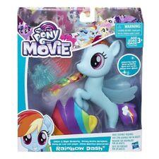 My Little Pony The Movie Glitter & Style Seapony Play Set Rainbow Dash New Gift