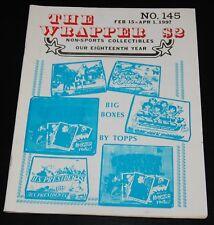 The Wrapper 145 Non Sport Card Fanzine Magazine Topps Big Box Apes Creature Evel