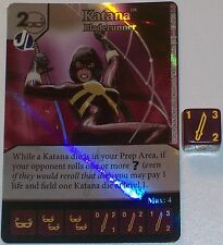 Foil KATANA: BLADE RUNNER 23 Green Arrow and The Flash Dice Masters