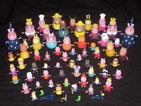 PEPPA PIG FIGURES. MUMMY CAT PONY RICHARD RABBIT TEDDY DINOSAUR FRIENDS SETS TOY