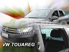 VW TOUAREG 5-portes 2010-2017 Deflecteurs de vent 4-pièces HEKO Bulles