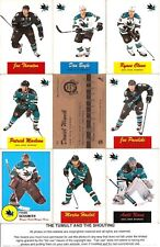 2012-13 OPC O-Pee-Chee Retro San Jose Sharks Master Team Set (18)