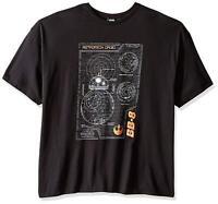Star Wars Men's BB Schema T-Shirt, Black, 3XL