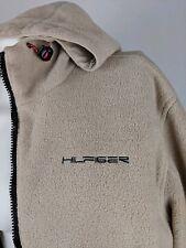 VTG Tommy Hilfiger Athletics Sherpa Fleece Nylon Reversible Jacket Mens Sz M