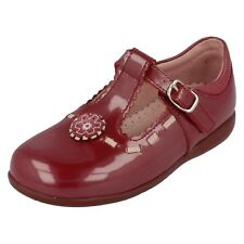Girls Start Rite Dark Red patent shoes DAISY UK INFANT 8.5 G FIT
