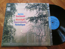 SERKIN BEETHOVEN Moonlight Appassionata Pathétique LP ITALY STEREO 360 SOUND
