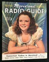 MOVIE & RADIO GUIDE - May 1940 - GLORIA JEAN / Pat Friday / JOAN FONTAINE