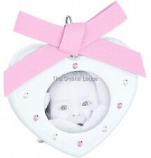 SWAROVSKI CRYSTAL CORNICE-Baby Rosa 5004626 Nuovo di zecca Boxed in pensione