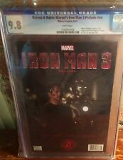 CGC Marvel's Iron Man 3 Prelude begins storyline for new young Ironman