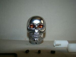 chrome skull shifter knob skeleton shifter knob handle chrome shifter knob
