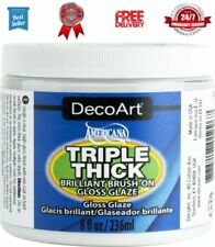 Deco Art Triple Épais Brillant-Brosse Sur brillant émail 8 oz (environ 226.79 g) autres Multicolore Art