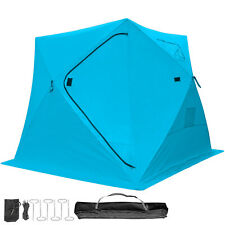 3-person Ice Shelter Fishing Tent Accessories Room Stability Waterproof Fabric