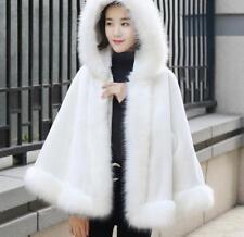 De Lujo de invierno cálido abrigo de moda para mujer de piel abrigo chaquetas de Vino Boda Moda