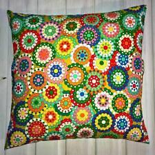 Art Deco Style Floral Square Decorative Cushions