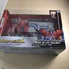 Transformers legends LG35 Super Ginrai (Super Optimus) Japan Import