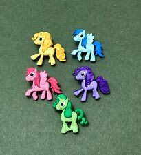 Pony Buttons - Horse Buttons - Pretty Pony Parade - Unicorn - Bright
