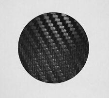 1x Skoda 45mm Lenkrad Emblem Folie Fabia Octavia Roomster Rapid Carbon schwarz