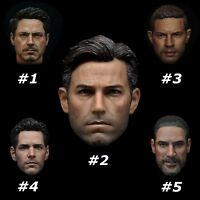 """1/6 Scale Head Sculpt Movie Heroic Role Design For Figure 12"""" Hot Toys Male Body"""