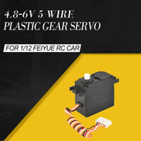 20g Plastic Gear Servo 4.8-6V 5 Wire For  1/12 Feiyue FY-01 FY-02 FY-03  RC Car