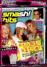 SMASH HITS 2002 (WHITE VEST) ATOMIC KITTEN MIS-TEEQ ANT DEC BRYAN MCFADDEN MUSE