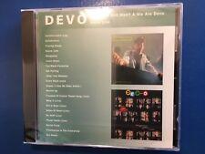 DEVO.       ARE WE NOT MEN    WE ARE DEVO....DEVO LIVE.          COMPACT DISC.