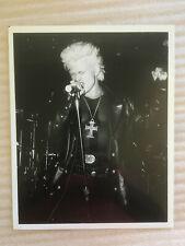 Billy Idol 1984 , Generation X , original vintage press headshot photo Punk Rock