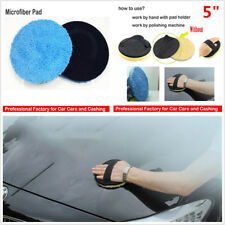 "Microfiber Cutting Pad Buffing Remove Paint 5"" Car SUV Care Sponge Polishing Pad"