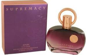 Supremacy Pour Femme 100ml  Purple EDP for Women  new & boxed by Afnan