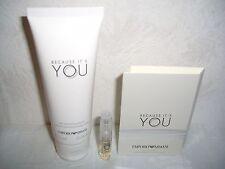NUOVO EMPORIO ARMANI because it 's you Set Eau de Parfum CAMPIONE + Body Lotion 75 ML