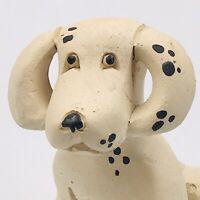 Vintage Artesania Rinconada Dalmation Dog Figurine Classic #115 Uruguay